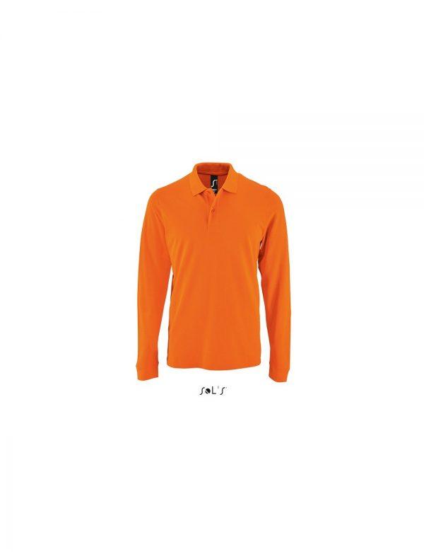 Ανδρικό Μακρυμάνικο Polo – SOL'S PERFECT LSL MEN