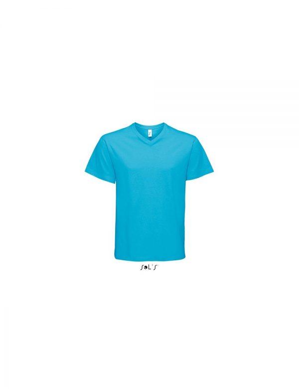 """Ανδρικό T-shirt με Λαιμόκοψη """"V"""" – SOL'S VICTORY"""
