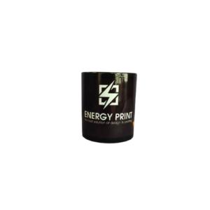 Διαφημιστική Κούπα με Λογότυπο • Μαύρη