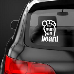 Αυτοκόλλητα Baby On Board